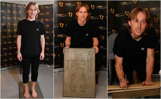 Luka Modric thắng giải thưởng Bàn chân vàng 2019 ảnh 1