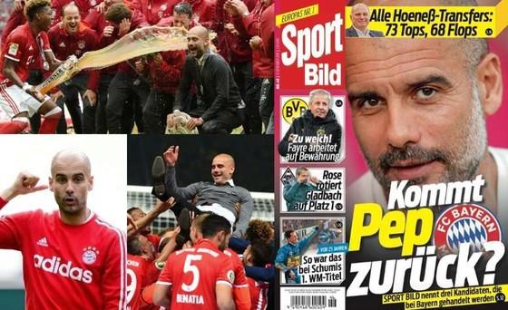 Trang bìa tờ Sport Bild