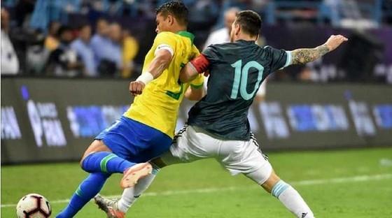 Messi nói HLV tuyển Brazil câm miệng ảnh 3