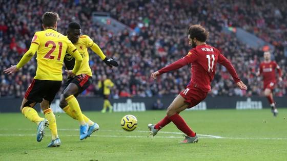 Liverpool - Watford 2-0: Mo Salah tỏa sáng với cú đúp ảnh 5