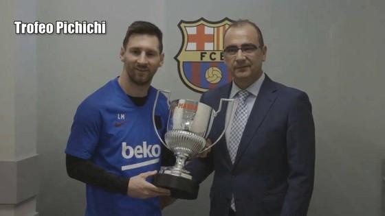 Đoạt Pichichi và Alfredo di Stefano, Messi thâu tóm giải thưởng cá nhân ảnh 1
