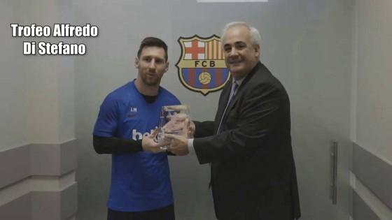 Đoạt Pichichi và Alfredo di Stefano, Messi thâu tóm giải thưởng cá nhân ảnh 2