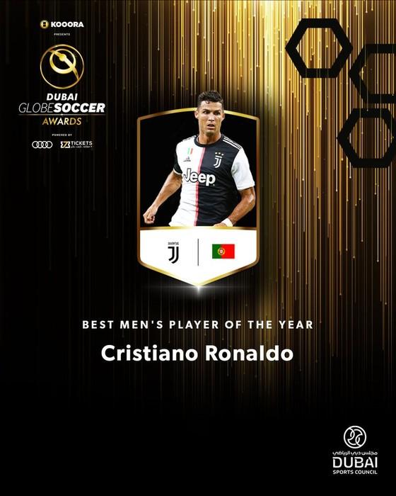 Cristiano Ronaldo đoạt giải thưởng Bóng đá địa cầu 2019 ở Dubai ảnh 2