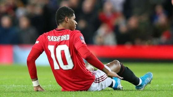 Marcus Rashford có thể phải tiêm thuốc giảm đau để ra sân vào chủ nhật