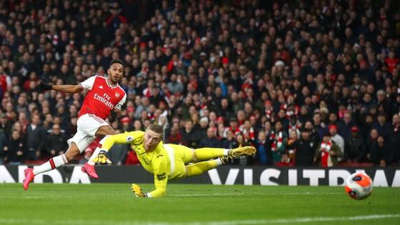 Arsenal - Everton 3-2: Aubameyang ghi cú đúp giúp Pháo thủ ngược dòng ảnh 8