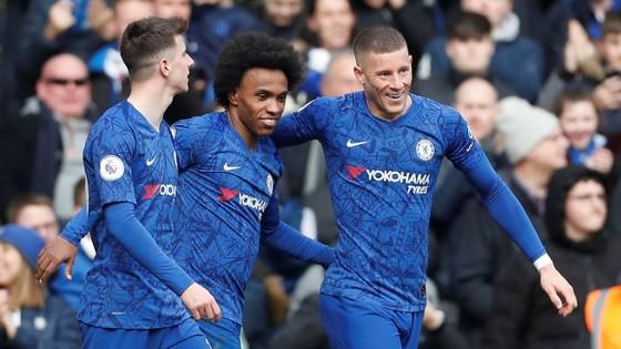 Chelsea - Everton 4-0: Mason Mount, Pedro, Willian và Giroud nhấn chìm Everton ảnh 7