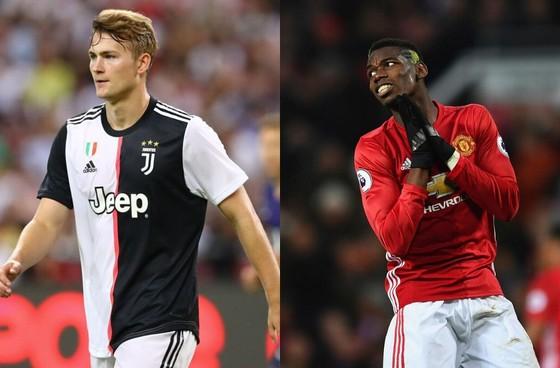 Trao đổi De Ligt lấy Paul Pogba, Man United hay Juventus hưởng lợi