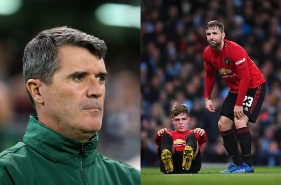 Roy Keane không hài lòng với Luke Shaw lẫn Brandon Williams