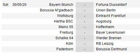 Bundesliga công bố lịch thi đấu 9 vòng cuối cùng ảnh 5