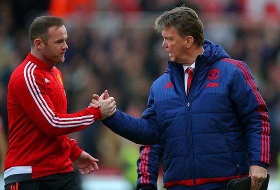 Wayne Rooney và HLV Van Gaal