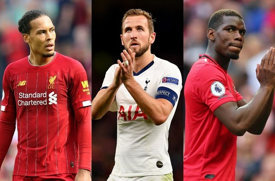 Van Dijk, Harry Kane và Paul Pogba nằm trong tốp 10 ngôi sao giàu nhất Premier League 2020