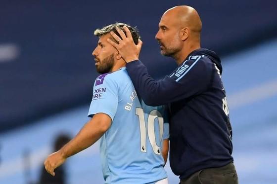 Sergio Aguero và ông thầy Pep Guardiola