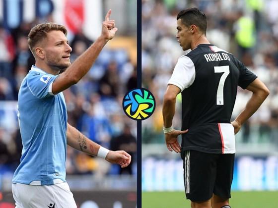 Ciro Immobile và Cristiano Ronaldo