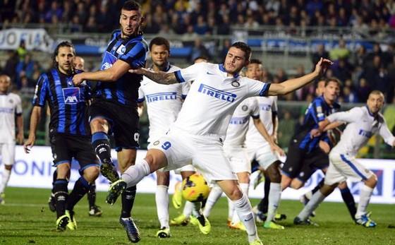 Trận Inter tiếp Atalanta lượt đi