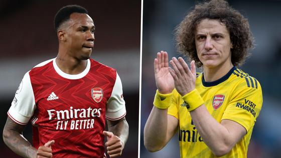 Tân binh Arsenal, Saliba và Gabriel 'may mắn' khi học hỏi từ David Luiz ảnh 1