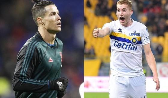 Ronaldo và Dejan Kulusevski
