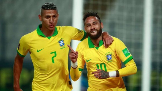 Richarlison và Neymar