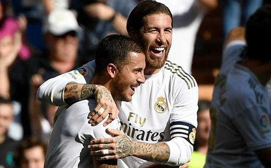 Real Madrid trông yếu has83n khi mất Eden Hazard và Sergio Ramos vì chấn thương.