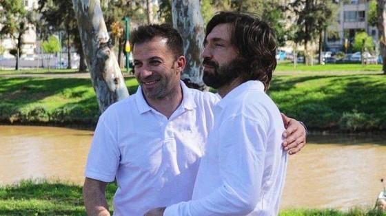 Del Piero nghi ngờ thử nghiệm của Andrea Pirlo ảnh 1