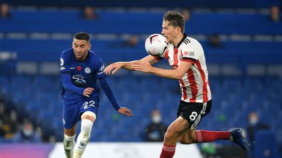 Chelsea thắng ngược Sheffield United: Thiago Silva và Werner ghi bàn trong màn trình diễn của Ziyech ảnh 5