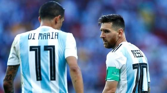 Angel Di Maria và Messi