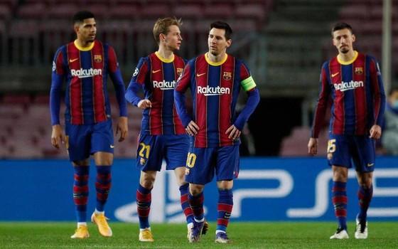 Barcelona chơi bết bát trong Liga