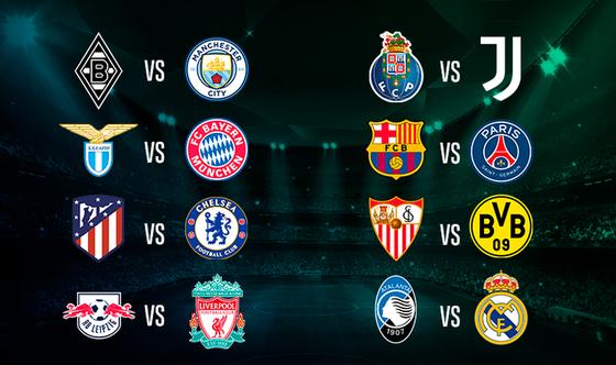 Bốc thăm vòng 1/8 Champions League: Barcelona đụng độ PSG, Atletico chạm trán Chelsea ảnh 1