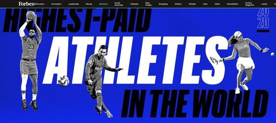 Ronaldo và Messi hiện diện trong tốp 5 những người nổi tiếng có thu nhập cao nhất ảnh 1