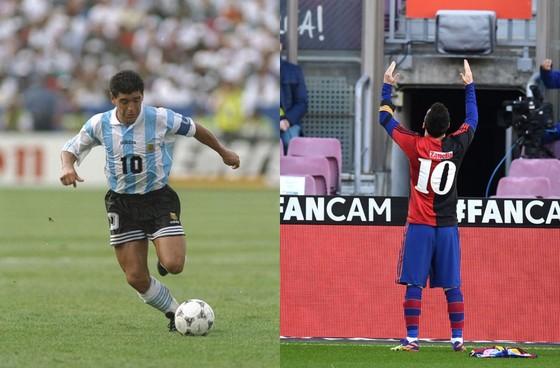 Nhận cúp Pichichi, Leo Messi dành sự tôn kính tới Diego Maradona ảnh 1