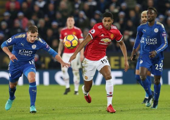Marcus Rashford sẽ nỗ lực bghi bàn chống lại Leicester