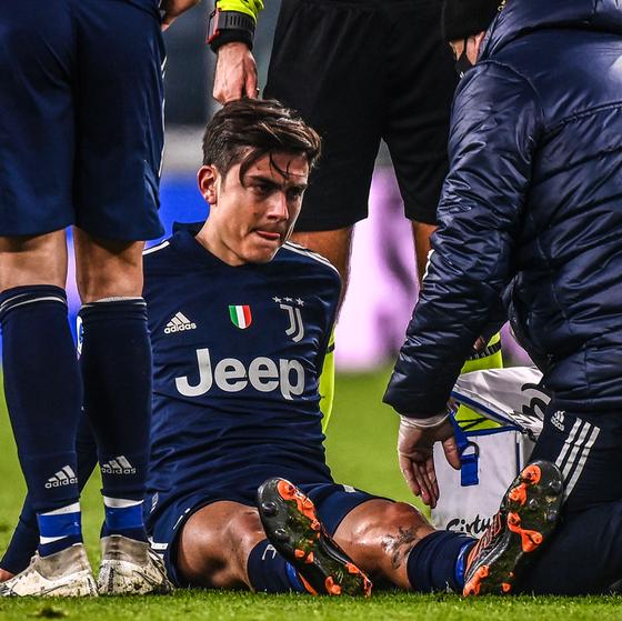 Paulo Dybala dính chấn thương khá nặng