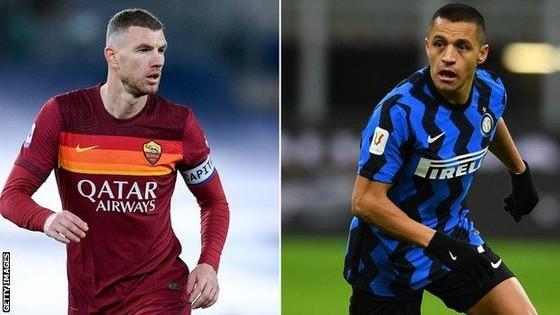 Inter và AS Roma hoán đổi Alexis Sanchez lấy Edin Dzeko ảnh 1
