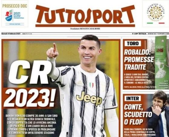 Ronaldo chuẩn bị phá thêm một kỷ lục ở Juventus
