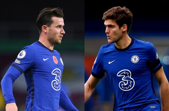Ben Chiwell và Marcos Alonso