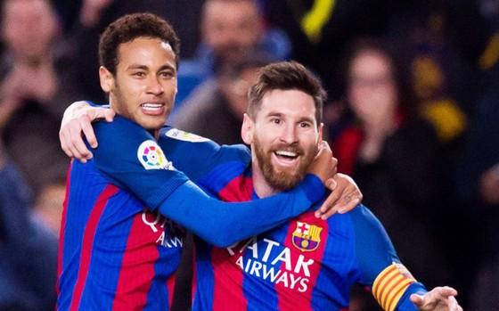 Neymar va Messi khi còn chơi cùng nhau ở Barcelona