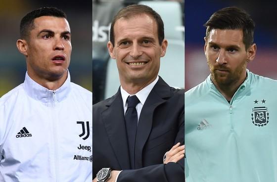 Ronaldo, Allegri và Messi