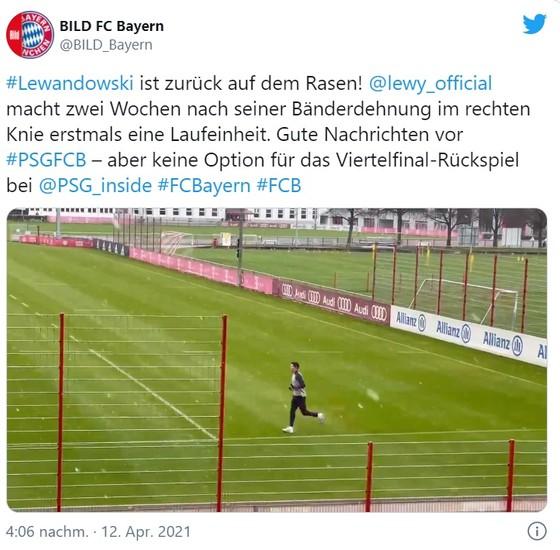 Lewandowski đã chạy trở lại nhưng sẽ không đá nổi với PSG ảnh 1