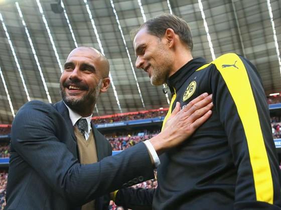 Pep Guardiola và Thomas Tuchel