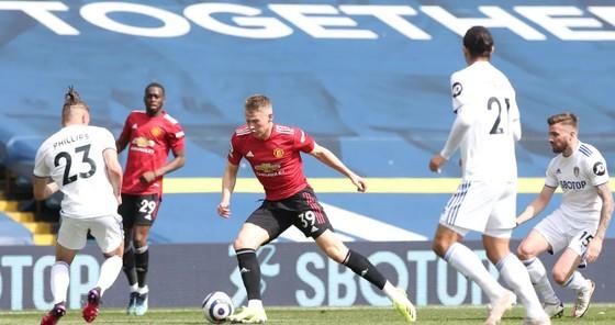 Leeds cầm chân Man.United, giúp Man.City đến gần ngôi vô địch ảnh 1