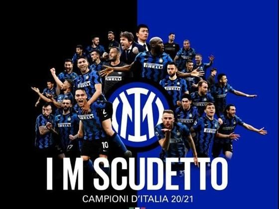 Inter Milan đạ đăngn quang vô địcfh sau 11 năm chờ đợi