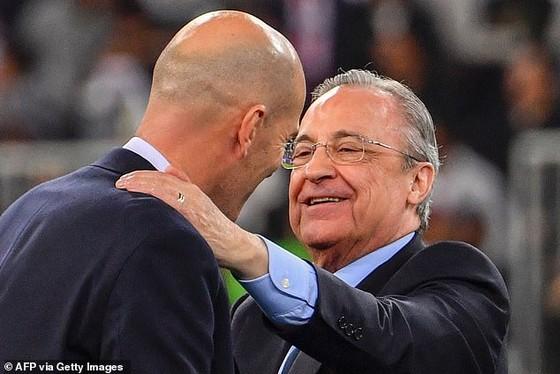 Chủ tịch Florentino Perez tôn trọng quyết định của Zidane