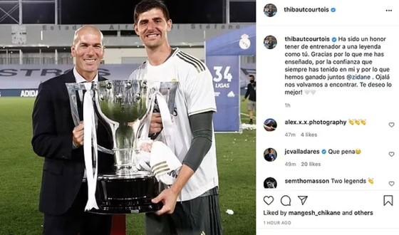 Sergio Ramos cùng các sao Madrid nói lời từ biệt ông thầy Zinedine Zidane ảnh 3