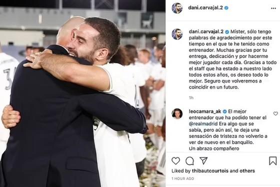 Sergio Ramos cùng các sao Madrid nói lời từ biệt ông thầy Zinedine Zidane ảnh 4