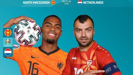 Goran Pandev (trái) sẽ chơi trận cuối cùng cho Macedonia