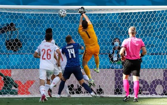 Slovakia - Tây Ban Nha 0-5: Chiến thắng kiểu bật nắp champagne của Luis Enrique ảnh 1