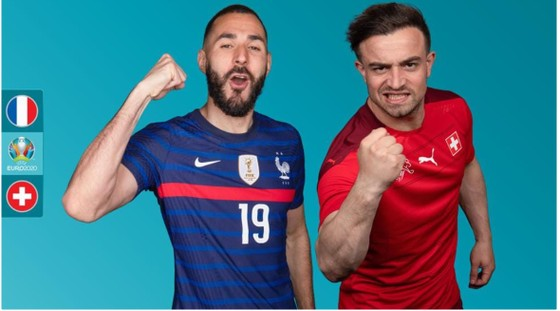 Karim Benzema và Shaqiri