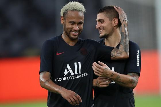 Neymar và Verratti vẫn đang nghỉ bù