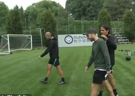 Eriksen trở lại Inter với 'thể trạng và tinh thần tuyệt vời' ảnh 2
