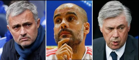Jose Mourinho, Pep Guardiola và Carlo Ancelotti