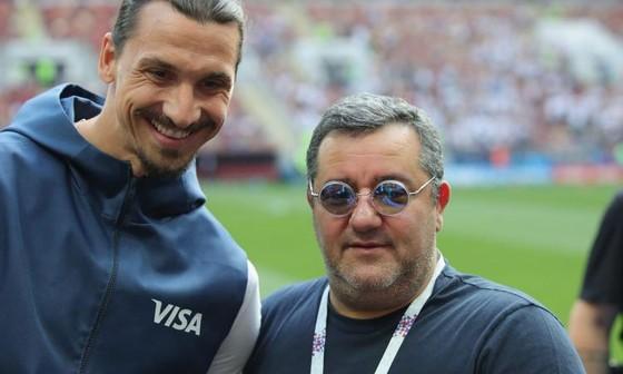 Zlatan Ibrahimovic và Mino Raiola